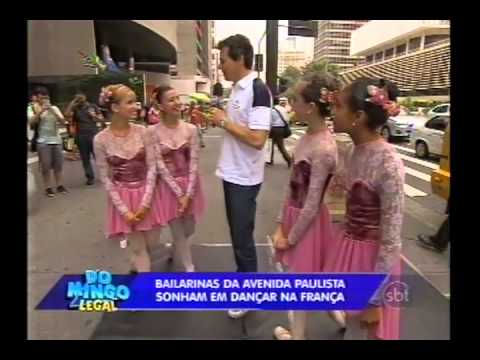 Domingo Legal - Portiolli realiza sonho de bailarinas - Parte 1