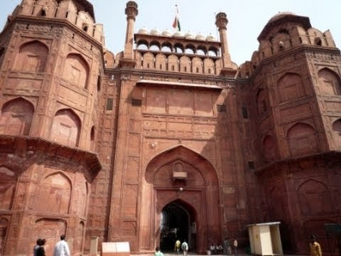 Red Fort Delhi 3 Chatta Chowk - Lahori Gate and Chhatta Bazar