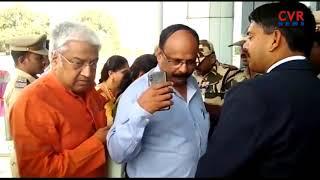 AP BJP Chief Kanna Lakshmi Narayana Face Bad Experience | Gannavaram Airport | CVR NEWS - CVRNEWSOFFICIAL