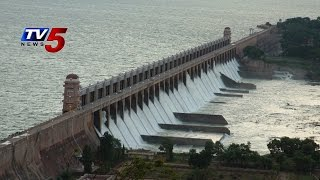 Heavy Inflows To Tungabhadra dam | Water Releases into river : TV5 News - TV5NEWSCHANNEL