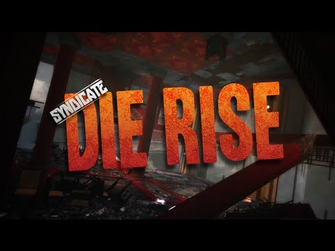 *New* Black Ops 2 Zombie Map *DIE RISE* Gameplay Trailer Breakdown w/Syndicate