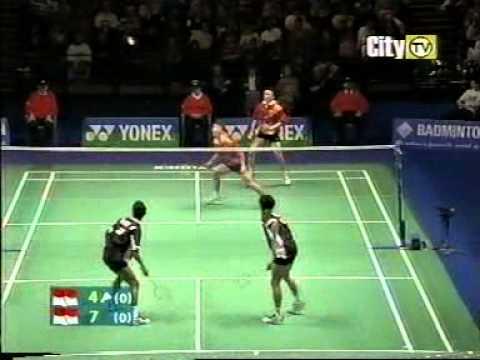 Badminton Best Men's Doubles Match Ever [1/3]