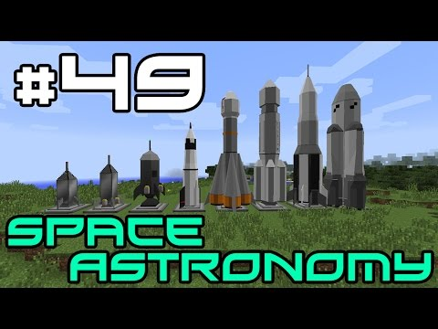 Minecraft Space Astronomy - Cheese Boss and Space Gems! #49