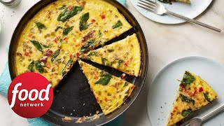 Whole30 Veggie-Packed Breakfast Frittata | Food Network - FOODNETWORKTV
