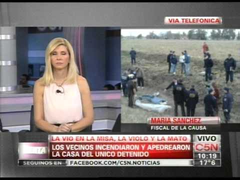 C5N - POLICIALES: UN HOMBRE VIOLO Y MATO A UNA MUJER EN MAR DEL PLATA