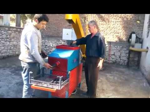 Mangal Odun Kömürü Tozu Sıkıştırma Makinası