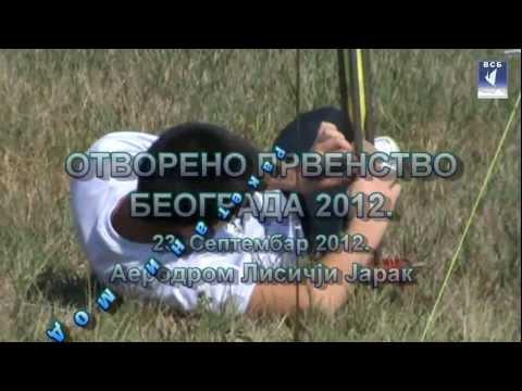 Raketni modelari na Lisičjem Jarku (Otvoreno prvenstvo Beograda 2012.) i uručenje nagrada