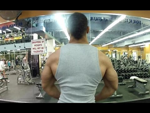Shoulder Day At The Gym