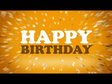 Matt Houston - Happy Birthday (Officiel Lyric Video)