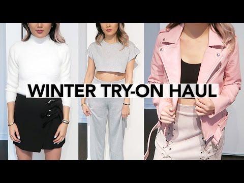 Winter Try-On Haul: Aritzia, SheIn, H&M || Sylvia Jade