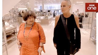 Ex-Playboy Bunny Candace takes Miriam shopping - Miriam's Big American Adventure  -  BBC One - BBC
