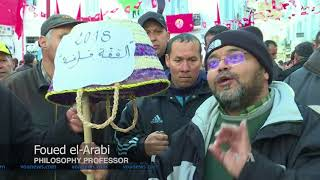Tunisia Marks Anniversary of Arab Spring Event Amid Economic Protests - VOAVIDEO