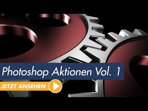 Photoshop-Aktionen-DVD - Top 100 Aktionen für Photoshop - Trailer