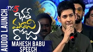 Mahesh Babu Speech At Bhale Manchi Roju Audio Launch