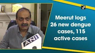 video : Meerut में अब तक Dengue के कुल सक्रिय मामले 115 हैं - Chief Medical Officer