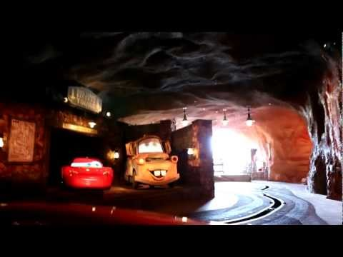 Radiator Springs Racers (Full Ride) - HD POV - Ramone's Paint Shop