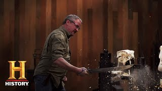 Forged in Fire: Pioneer Sword Tests (Season 5) | History - HISTORYCHANNEL