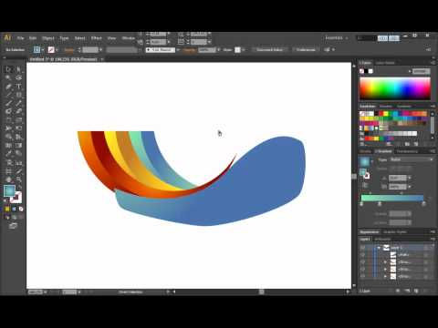 Illustrator CS6 Logo Design Tutorial - Archfold