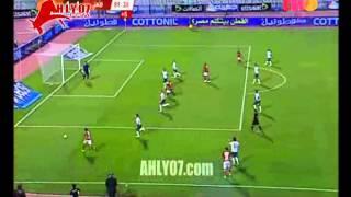 هدف الأهلي الأول في الاتحاد السكندري مقابل 4 صلاح الدين سعيد