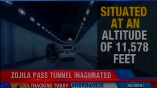 Asia's longest bi-directional tunnel inaugurated; Kargil, Srinagar & Leh to be linked - NEWSXLIVE