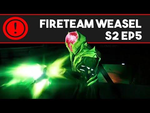 Fireteam Weasel S2 Ep. 5: Wraithing Lunatic (Destiny Machinima)