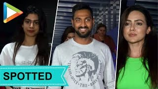 Khushi Kapoor, Hardik Pandya, Poonam Dhillon & others SPOTTED at HAKKASAN - HUNGAMA
