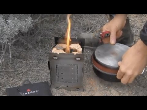 Swedish Fire Torch Fueled Wood Fired Stoves! Burn Time 45+ Min!