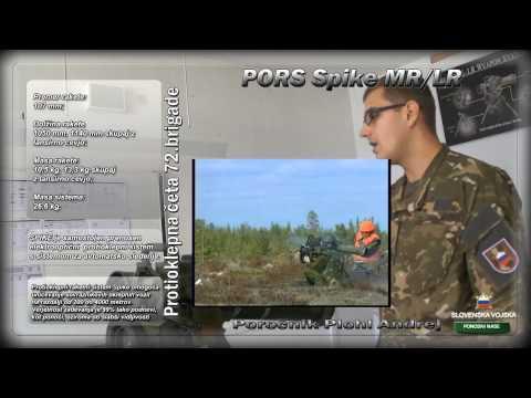 Protioklepni raketni sistem Spike MR/LR