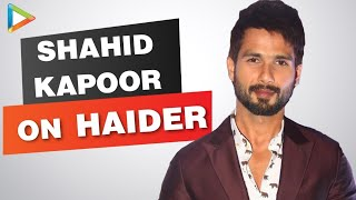 Shahid Kapoor Exclusive Interview on Haider Part 1 - HUNGAMA