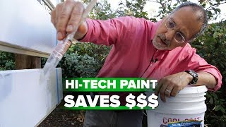 See how white paint dramatically cools your home - CNETTV