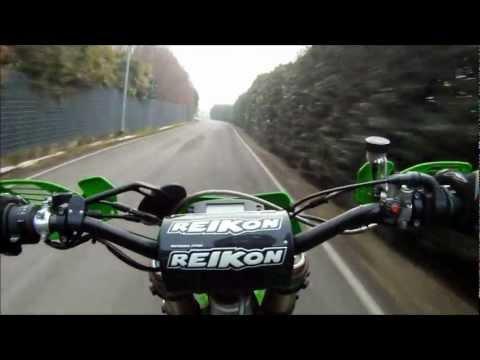 Kawasaki KX 450F Motard - GoPro HD