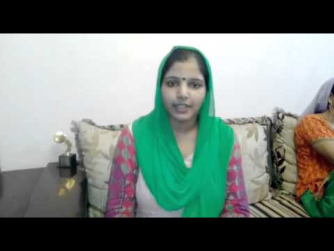 <p>Faridabad District Council ward no 4 candidate Kanchan Bhadana Give a MSg for Ward People</p>