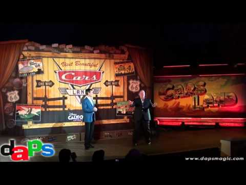Full Cars Land Opening Ceremony - Disney California Adventure - Disneyland Resort