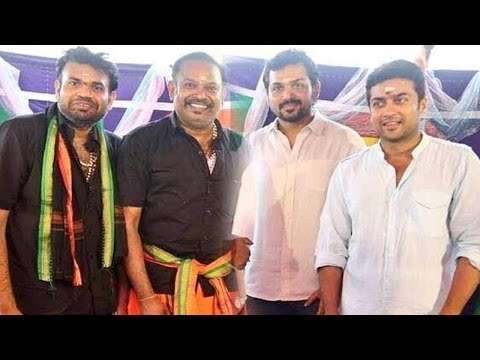 Surya 31 Film : Surya & Venkat Prabhu Movie Shoot Now ! Karthi, Prem G