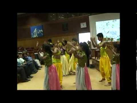 Bahai School Gangtok Performance at Chintan Bhawan on Water Conservation