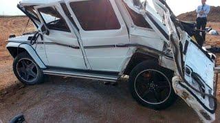 Mercedes-Benz Gelandewagen (G-Class) Crash   Аварии Мерседес Гелендваген (Гелик)