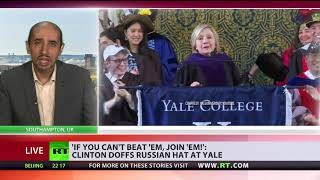 'Frail Clinton has problem of letting her failure go' – analyst on Hillary speech at Yale - RUSSIATODAY