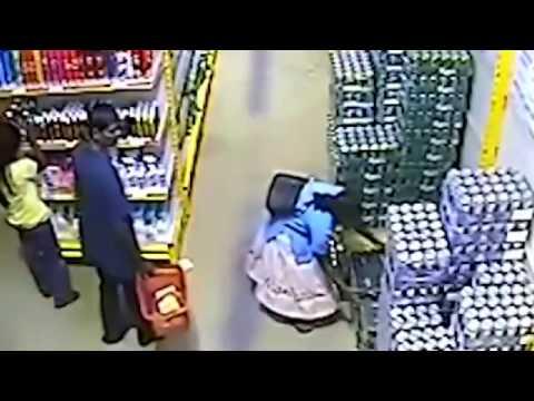 Способы воровства в магазинах казалось, была