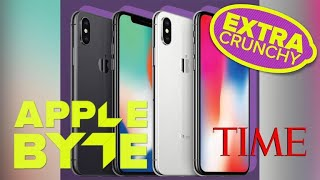 iPhone X: Time Magazine's top 25 best inventions of 2017 (Apple Byte Extra Crunchy Podcast, Ep. 110) - CNETTV
