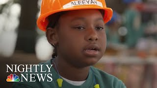 Construction Camp Teaches Young Girls Independence And New Skills | NBC Nightly News - NBCNEWS