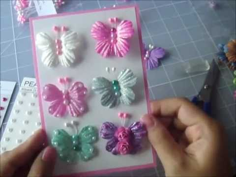 WOC s How to make Jeweled Butterflies Super Easy Stunningly Gorgeous 