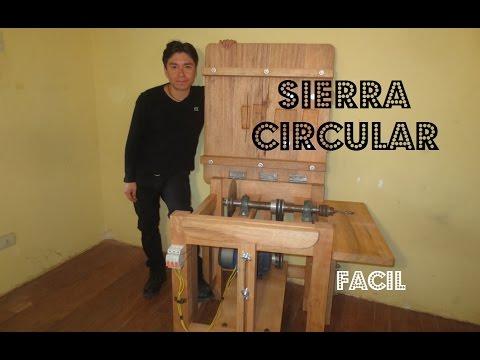 Como Hacer Una SIERRA CIRCULAR De Madera Paso  A Paso - English Subtitles