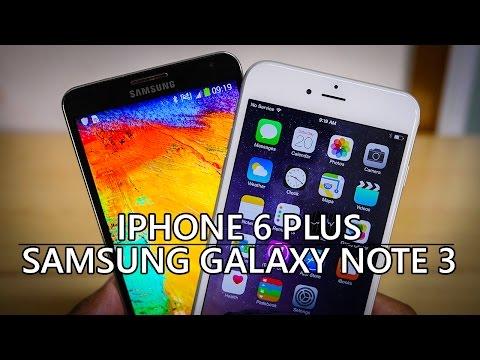 iPhone 6 Plus vs Samsung Galaxy Note 3 - Quick Look
