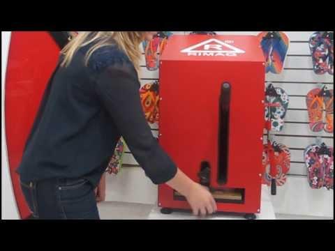 Máquina de Fazer Chinelos Manual Rimaq - Faça mais de 240 pares/dia.
