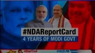 On the eve of Modi's 4 years, all eyen on NDA report card — Nation at 9 - NEWSXLIVE