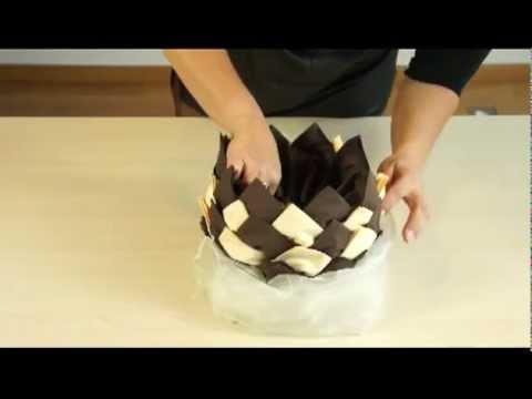 AVA pliage de serviette: l'ananas
