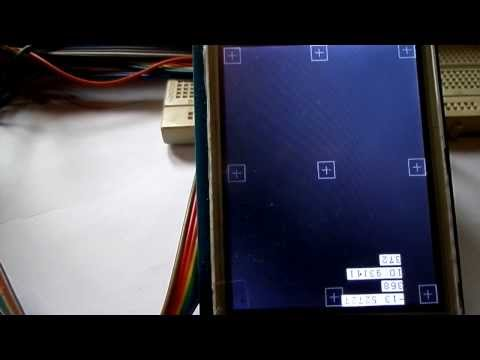 stellaris launchpad with Touch Screen LCD TFT calibration