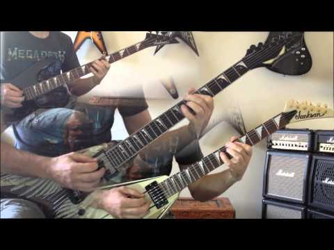 Megadeth - Lucretia All Guitar Cover (No Backing Track)