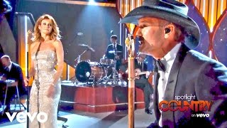 What Tim McGraw & Faith Hill Did to Celebrate 18 Years (Spotlight Country) - VEVO