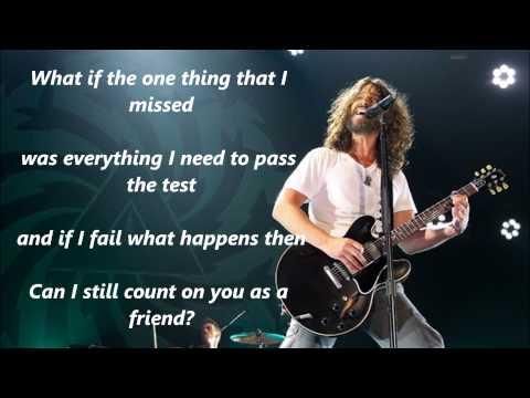 Soundgarden - Live To Rise ( Lyrics )